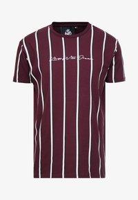 Kings Will Dream - T-shirts med print - burgundy/white/navy - 3