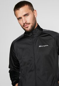 Champion - TRACKSUIT TAPE - Chándal - black - 5