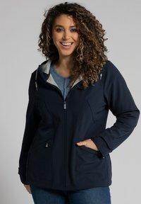 Ulla Popken - Soft shell jacket - navy - 0