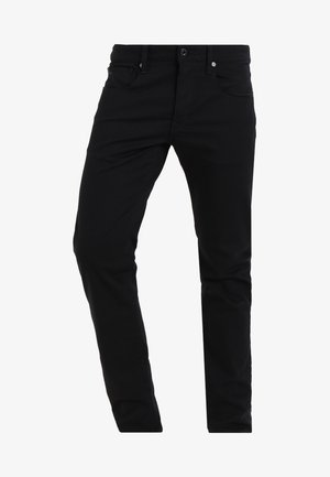 3301 SLIM - Jean slim - ita black superstretch