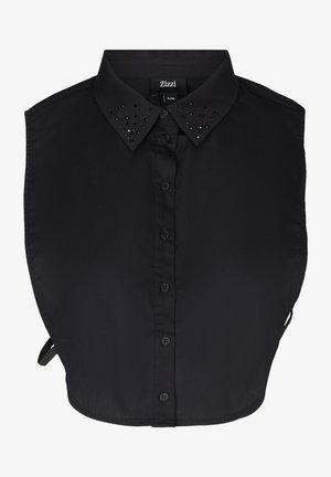 MIT STEINEN - Button-down blouse - black