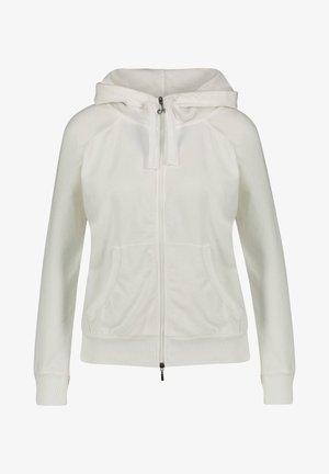 MIT KAPUZE - Zip-up hoodie - beige