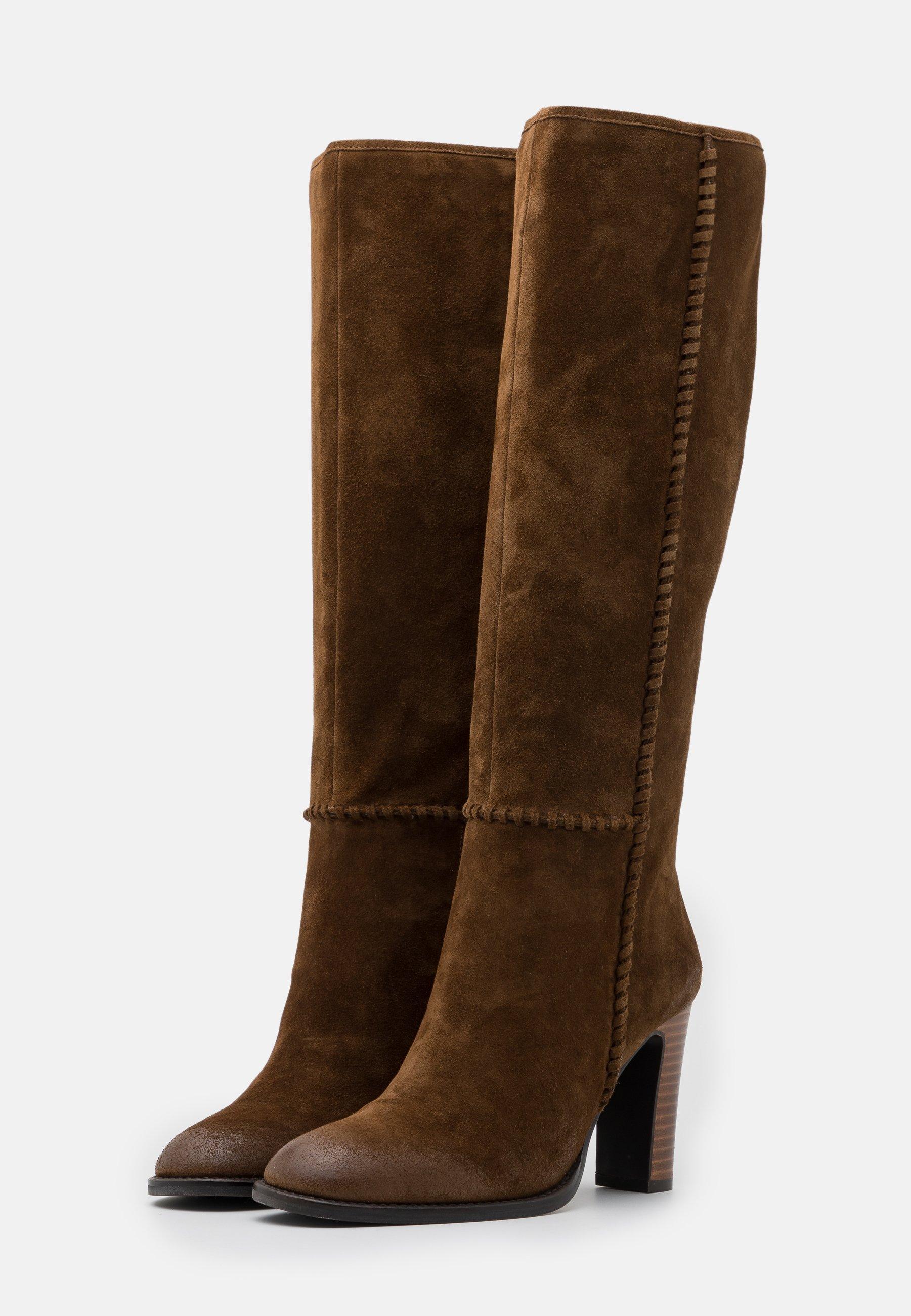 Bruno Premi High Heel Stiefel corteccia/cognac