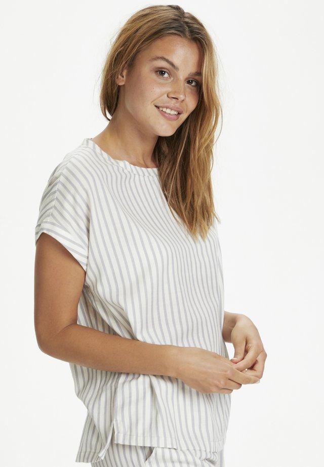 T-shirt med print - dapple gray