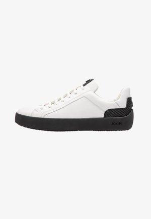 Sneakersy niskie - dark grey, white