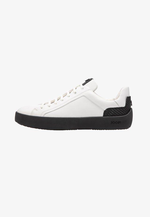 Sneakers laag - dark grey, white