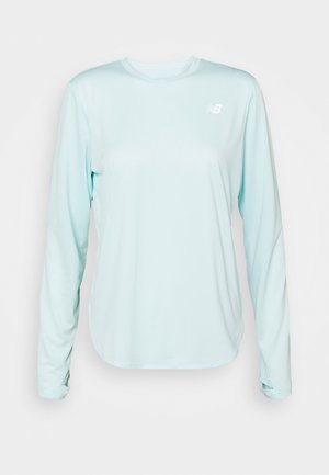ACCELERATE LONG SLEEVE - Funktionströja - pale blue chill