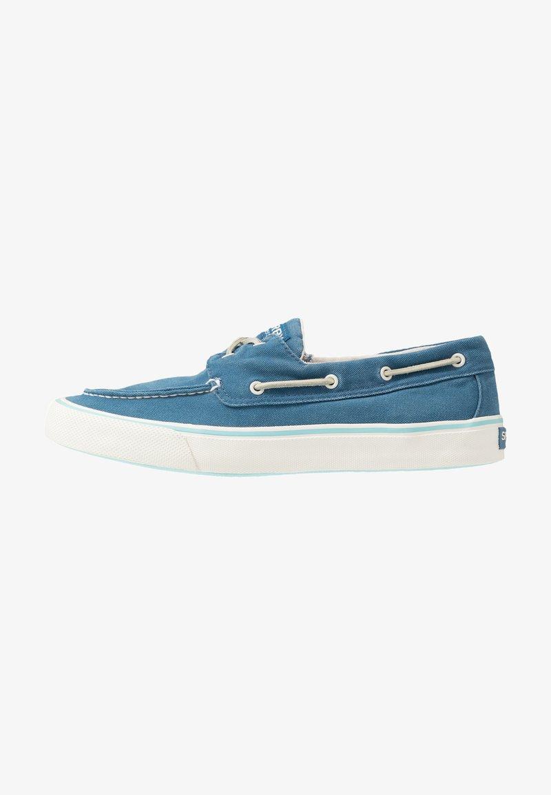 Sperry - BAHAMA KICK BACK - Boat shoes - slate blue