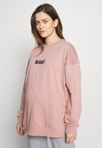 Missguided Maternity - MAMA - Bluza - rose pink - 0
