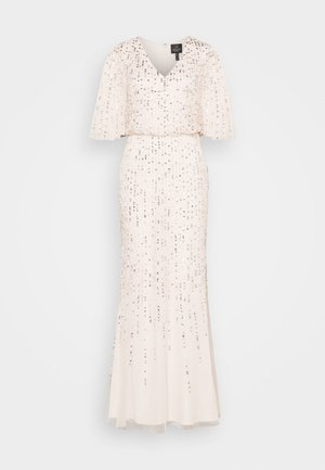 BEADED COVERED BLOUSON GOWN - Occasion wear - flaxen