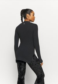 Free People - BLISSED OUT LONG SLEEVE - Longsleeve - black - 0