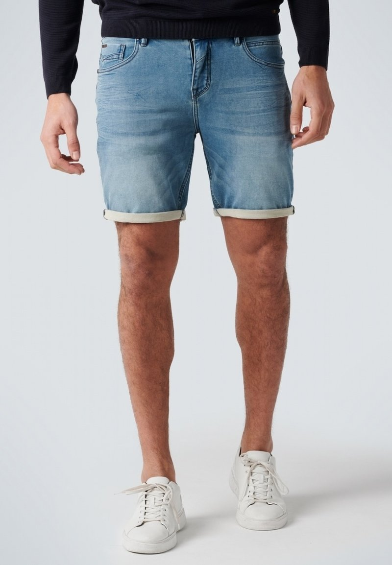 No Excess - Denim shorts - bleach denim