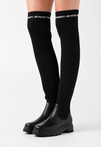 Tommy Jeans - Over-the-knee boots - black - 0