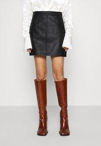 Pepe Jeans - TATI - Mini skirt - black - 0