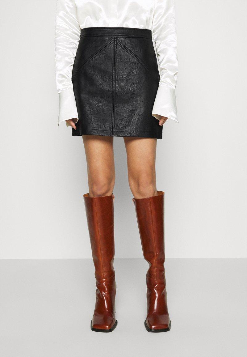 Pepe Jeans - TATI - Mini skirt - black