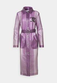 Juicy Couture - VIRGINIA SHEER COAT - Manteau classique - pastel lilac - 4