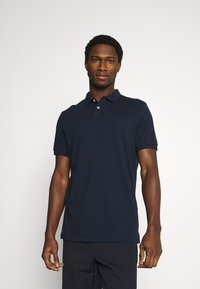 Pier One - 2 PACK - Polo shirt - dark blue/light blue - 3