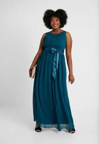 Dorothy Perkins Curve - NATALIE MAXI - Společenské šaty - dark green - 0