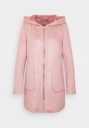 ONLHANNAH HOODED JACKET - Kort kåpe / frakk - rose