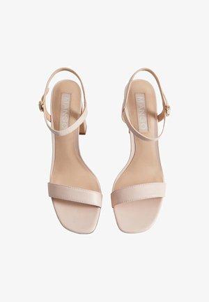 AIR - Sandales à talons hauts - nude
