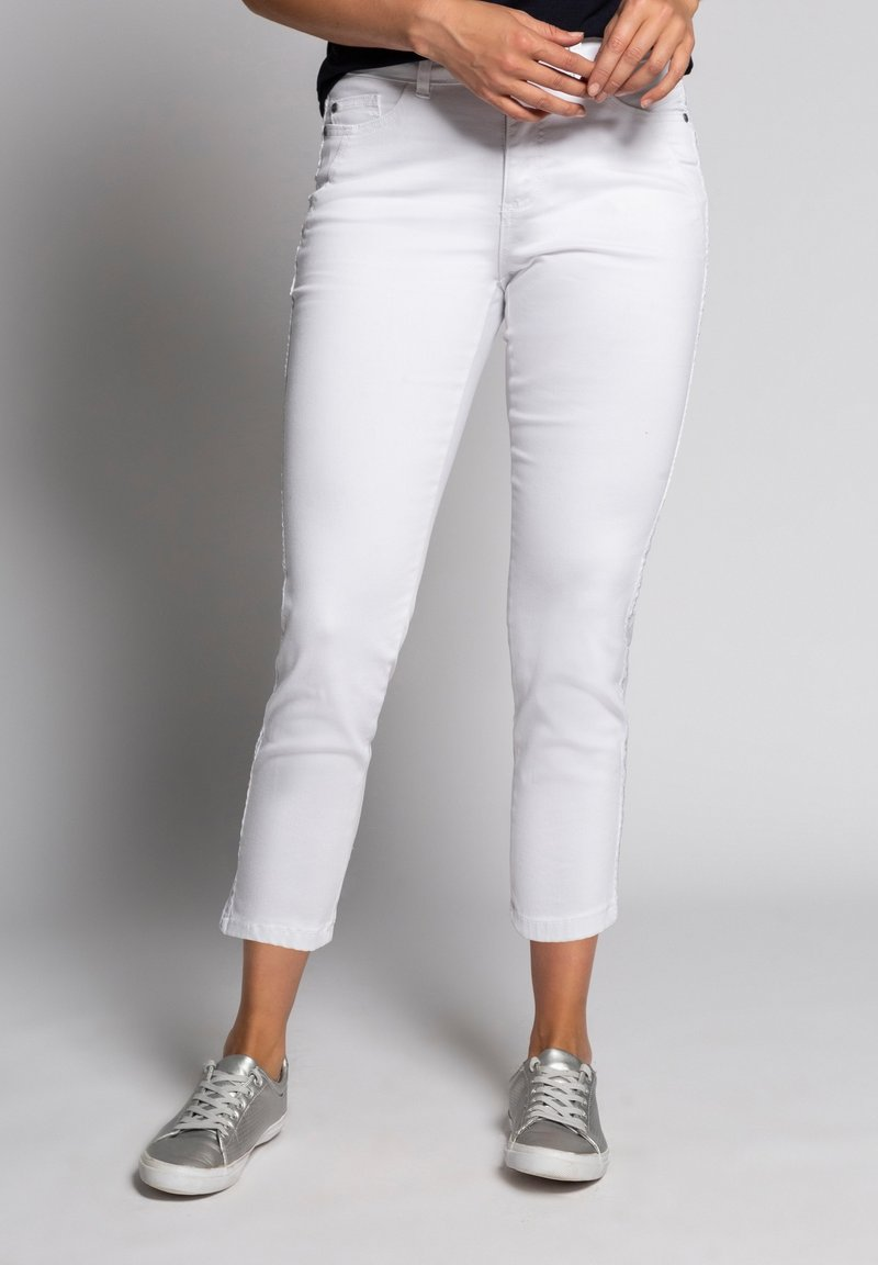 GINA LAURA - Trousers - weiß