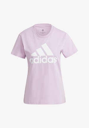 ESSENTIALS LOGO T-SHIRT - Print T-shirt - purple