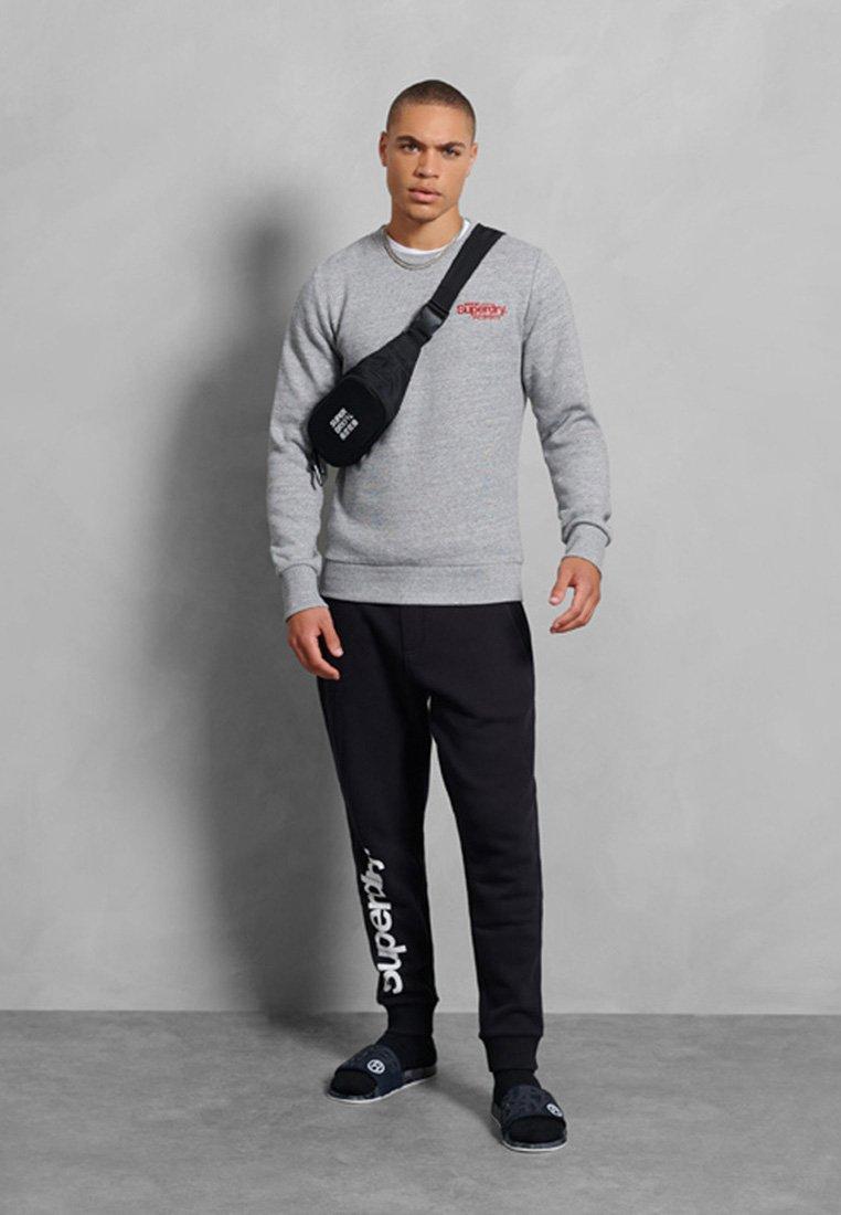 Superdry Sweatshirt - soft grey marl/hellgrau oc82Ny