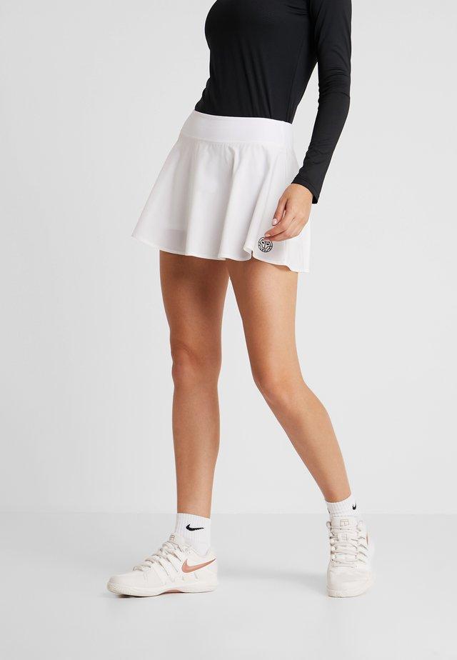 MORA TECH SKORT - Sports skirt - white