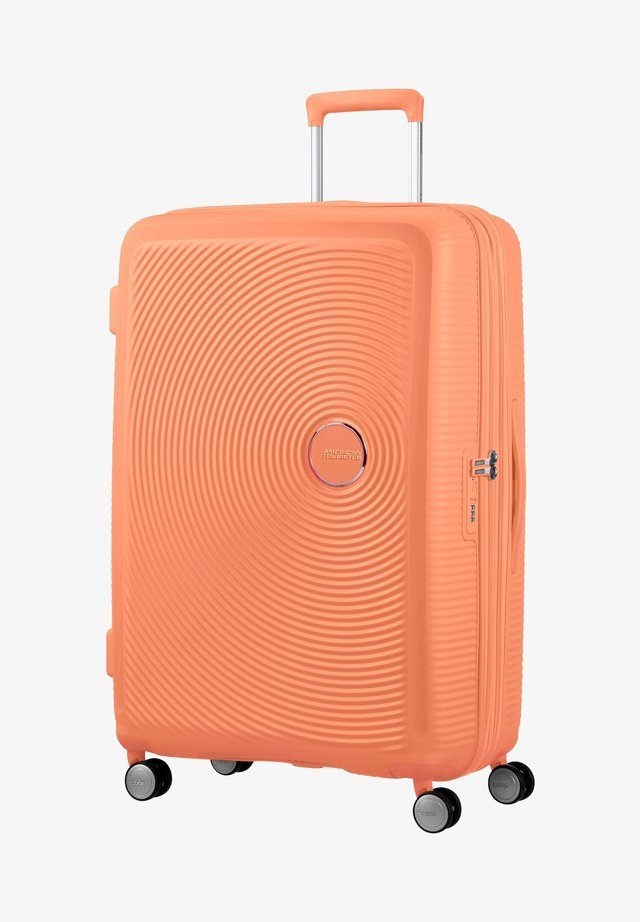 SOUNDBOX - Wheeled suitcase - cantaloupe