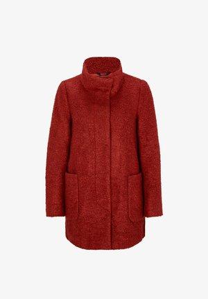 Winter jacket - autumn red
