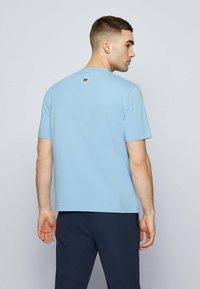 BOSS - Print T-shirt - open blue - 2