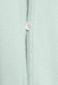 Missguided Petite - PEARL FRONT CARDIGAN - Vest - mint - 2
