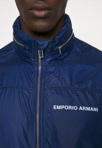 Emporio Armani - BLOUSON JACKET - Summer jacket - blu navy - 6