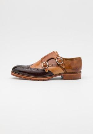 PATRICK 24 - Scarpe senza lacci - mid brown