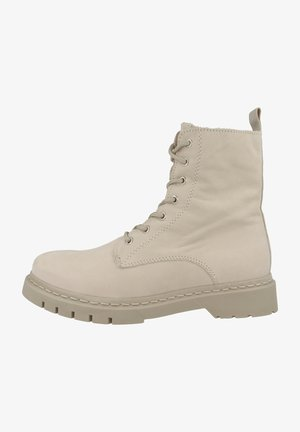 Lace-up ankle boots - antalope nubuc