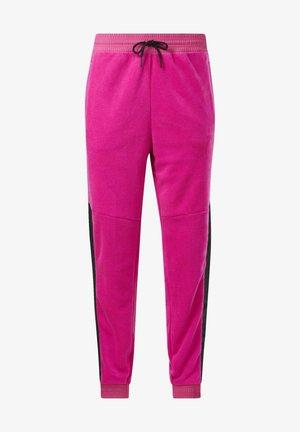 MYT WARM-UP JOGGERS - Spodnie treningowe - pink