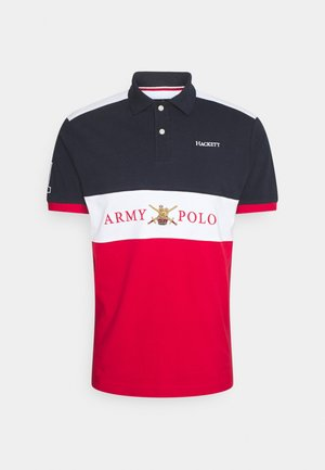 ARMY PANEL - Polo - navy/multi