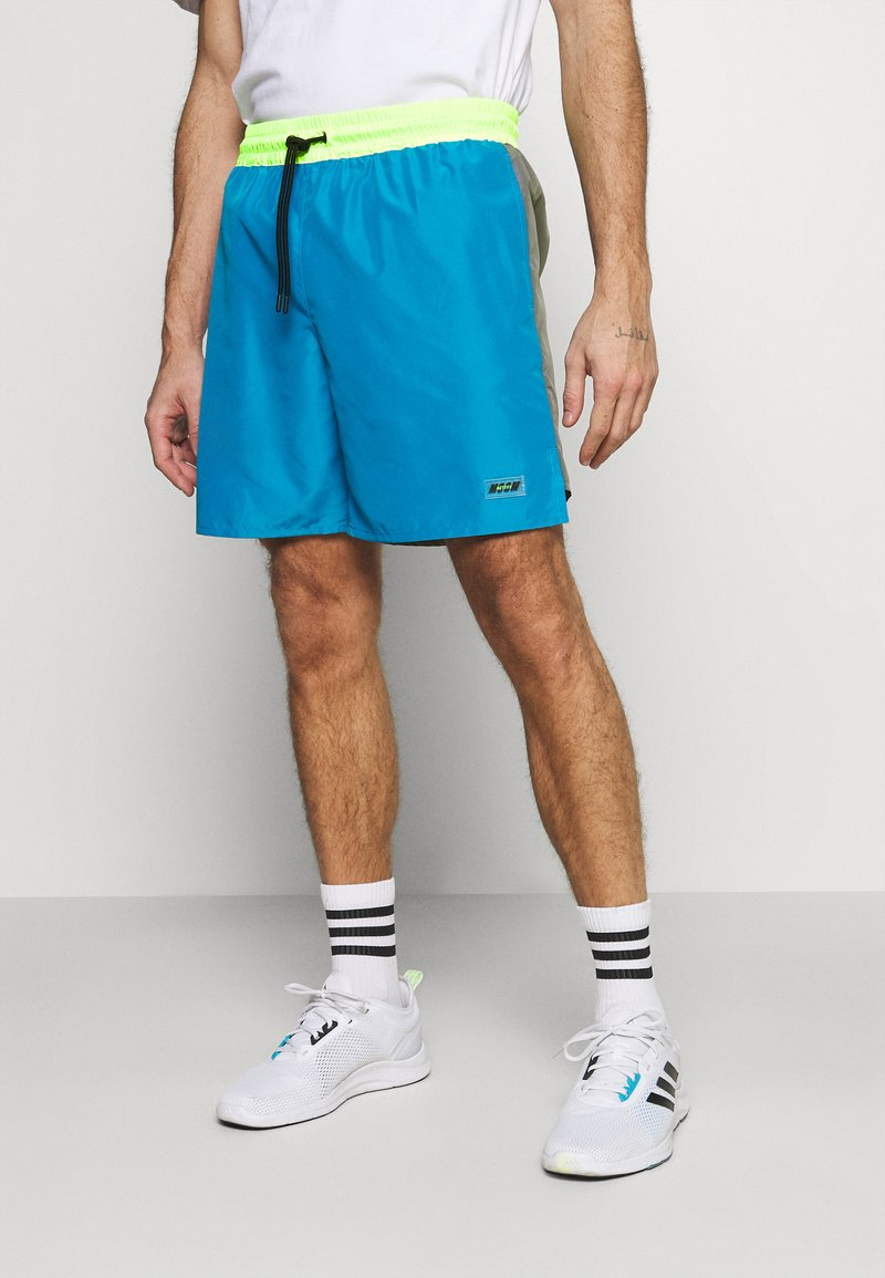 MSGM - BERMUDA SHORTS - Sports shorts - sky blue