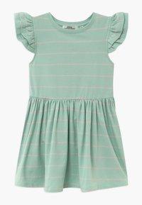 Ebbe - NICOLETTE - Žerzejové šaty - mint/bubble pink - 0