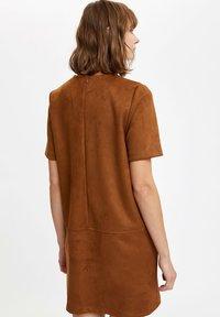 DeFacto - Day dress - brown - 2