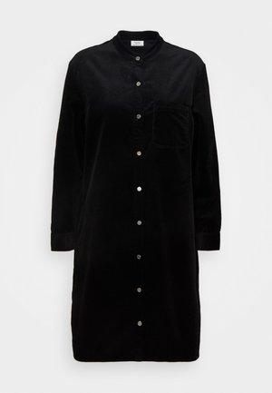 DRESS LONGSLEEVE SNAP BUTTONS - Shirt dress - black