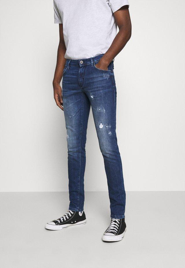 GILMOUR - Jeans Skinny - blue denim