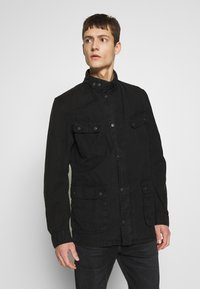 Barbour International - COLOURED DUKE CASUAL - Summer jacket - black - 0