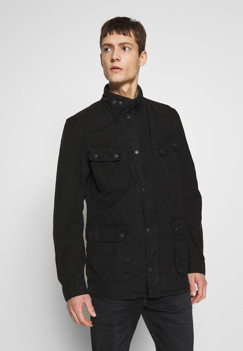 Barbour International - COLOURED DUKE CASUAL - Summer jacket - black