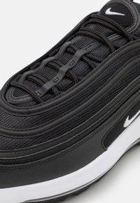 Nike Golf - AIR MAX 97  - Golfové boty - black/white - 5