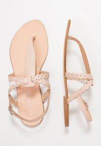 mint&berry - T-bar sandals - nude - 3