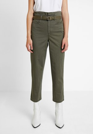 BERMA PANTS  - Trousers - dark olive