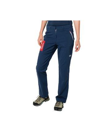 OVERLAND - Outdoor trousers - dark indigo