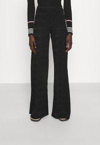 M Missoni - TROUSERS - Trousers - black - 0