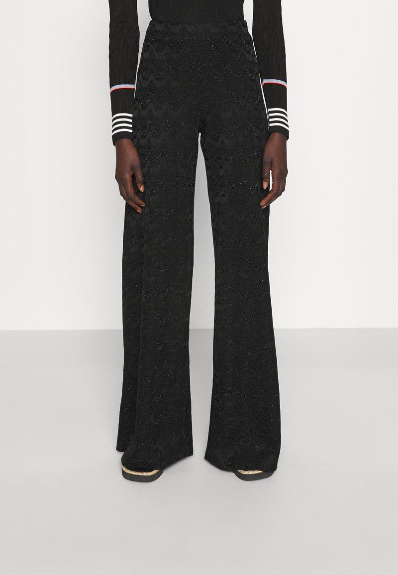M Missoni - TROUSERS - Trousers - black